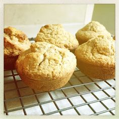 Apple Honey Oat Bran Muffins #recipe via @melissakarras