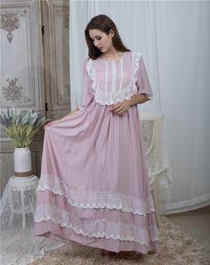 Vestidos Vintage, Vintage Dresses, Nightgowns For Women, Dress Suits, Vintage Fashion, Vintage Style, Fashion Dresses, Women's Fashion, Nightwear