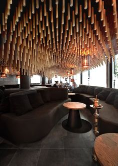 """When our client contacted us to design the interior of a traditional oriental hookah bar in Sofia, we sought inspiration in the """"One thousand and one nights"""" stories, and the intricate geometric patterns adorning classical Islamic..."""