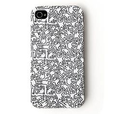 Keith Haring iPhone case. Pop Art