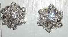 Bridal Shoe Clips  set of 2  Sparkling Crystal by ShoeClipsOnly