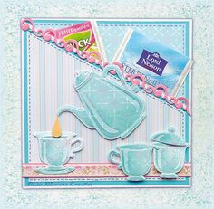 DiyArts Teapot Set Metal Cutting Dies New 2019 for Card Making Scrapbooking Paper Photo Embossing Cut Stencil Craft Frame Die-in Cutting Dies from Home & Garden on AliExpress - Day Crafters Companion Cards, Tea Party Invitations, Coffee Cards, Tea Pot Set, Marianne Design, Frame Crafts, Drinking Tea, Scrapbook Cards, Stencils