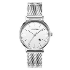#TomTop - #TomTop LONGBO Brand Fashion Modern Style Alloy Mesh Belt Men & Women Casual Watch Luxury Lovers Couples Watches Man Date Day Waterproof Woman Rose Gold Quartz Wristwatch 5009 - AdoreWe.com