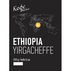 КофеТочка  ETHIOPIA YIRGACHEFFE 250g