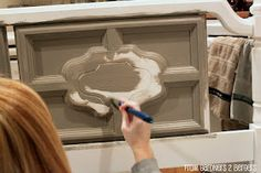 Make your own chalk paint for 4 dollars! DIY tutorial and paint recipes...may your furniture never be the same again!