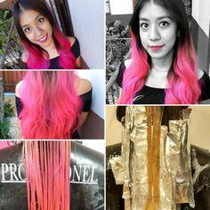 Proceso color Rosa neon!!   Excelente trabajo