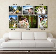 Best Wedding Pictures Display At Home Canvas Prints Ideas. Best Wedding Pictures Display At Home Canvas Prints Ideas. Canvas Collage, Wall Canvas, Wall Art, Living Room Wall Decor Canvas, Bedroom Wall, Diy Wall, Canvas Prints, Beach Canvas, Art Walls