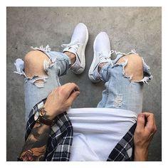 New moda casual masculina juvenil ideas Fashion Moda, Urban Fashion, Trendy Fashion, Mens Fashion, Fashion Outfits, Fashion Tips, Street Fashion, Super Moda, Mode Man
