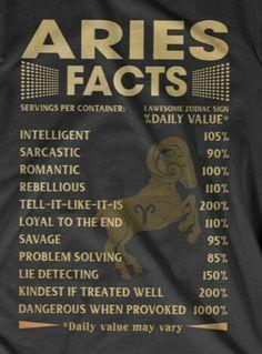 100% true #Aries