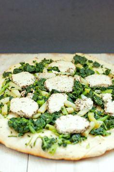 Greens BBQ Pizza