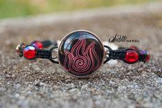 Neon Lights Fire Nation Bracelet from Avatar the by SubtleNerd, $20.00