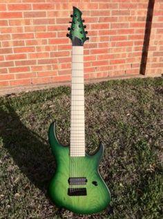 My Agile Intrepid 828 Lizardburst 8 string guitar