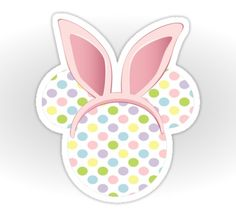 Easter Mickey, by Sweet Sisters, via www.Redbubble.com