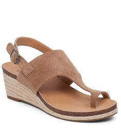 Lucky Brand Janessa Low Wedge Sandals