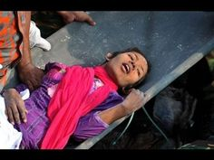 Woman rescued 17 days after Bangladesh clothing factory collapsed killing more than 1,000 people. http://www.youtube.com/watch?v=22XaH5QbsMk