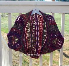 Posh Pooch Designs Dog Clothes: Firecracker Shrug Free Crochet Pattern -