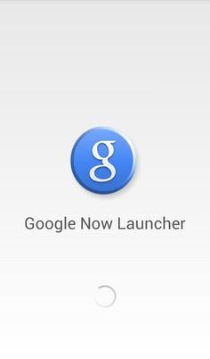 Android Lollipop Temalı Google Now Launcher