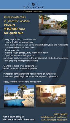 #Moraira, #Spain, #Property #Investment  www.davenport-wealth.com Kidney Shaped Pool, Moraira, Investment Property, Wealth, Investing, Spain, Villa, Restaurant, Sevilla Spain