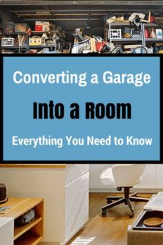 5 Questions to Ask Before Converting a Garage : Everything you need to know before converting your garage into a living space. Considering a garage conversion? Garage Game Rooms, Garage To Living Space, Garage Bedroom, Garage Turned Into Living Space, Garage Playroom, Living Spaces, Living Room, Garage Renovation, Garage Remodel