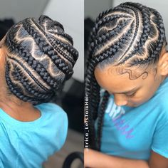 17 Trendy Kids Hairstyles You Have to Try-Out on Your Kids - Harp Times Black Kids Hairstyles, Kids Braided Hairstyles, Little Girl Hairstyles, Pretty Hairstyles, Woman Hairstyles, Dope Hairstyles, American Hairstyles, Braided Updo, Little Girl Box Braids