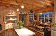 Country/Rustic (Country) Kitchen by Lisa Gildar