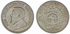 2 1/2 SHILLINGS SOUTH AFRICA-2 1/2 CHELINES SUDÁFRICA. KRUGER. 1894. VF/MBC.