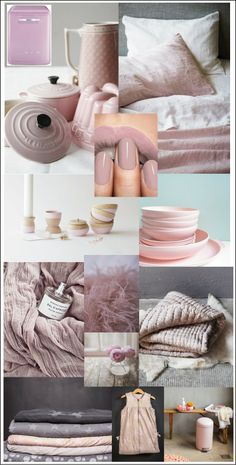 Moodboard pink.. voor meer inspiratie www.stylingentrends.nl of www.facebook.com/stylingentrends