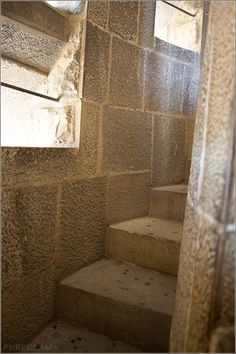 Inside view of the steps of Sagrada Família, Basilica – one of the best views over Barcelona, Spain
