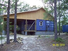 Container outbuilding ideas..