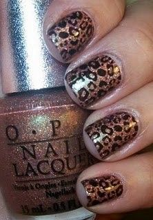 OPI gold leopard print Click the picture for even MORE!!