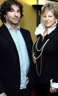 Jason Gould & mom Barbra Streisand (Getty Images)