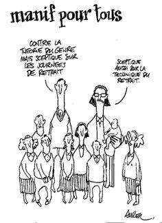 manif-pour-tous - theorie-genre - journees-retrait #satire #parodie #caricature #Aurel #mauvaisgenre #reformusinterruptus