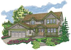 Craftsman House Plan ID: chp-20900 - COOLhouseplans.com
