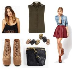 Geek Chic: Fashion Inspired by How To Train Your Dragon - College Fashion Character Inspired Outfits, Disney Inspired Outfits, Toothless Costume, Leather Skater Skirts, Geek Chic Fashion, Pin Up Outfits, Fandom Fashion, Casual Cosplay, How Train Your Dragon