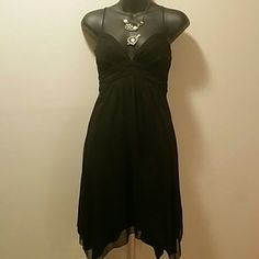 BOGO Beautiful black dress Size 3/4 will fit a small or medium. Worn once. B.smart Dresses