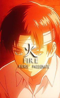 リヴァイ・アッカーマン | rivailution: Shingeki no Four Elements