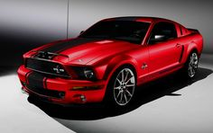 ford shelby red black - Google Search