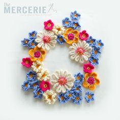 A Lovely crochet Flowers Workshop!