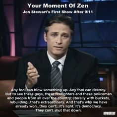 I love Jon Stewart