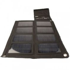 Nomad 27M Solar Panel. You can just roll it up and hang it out!