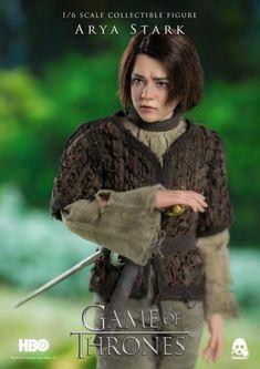 Threezero Hbo Game Of Thrones Arya Stark 1//6 Actionfigur Im Lager