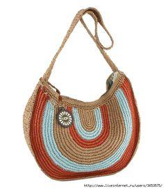 crochet bag. I really like this one