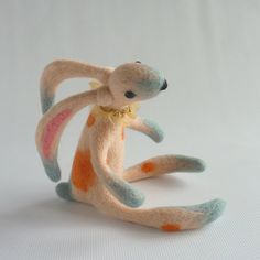 Silvia needle felted hare by Gretelparker on Etsy, $266.00