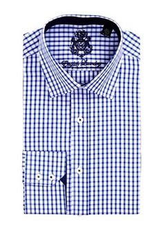 English Laundry Gingham Button Shirt