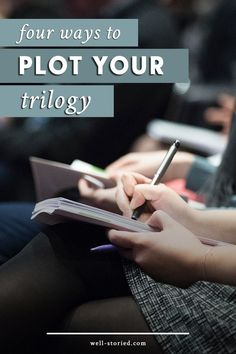 Are interested in writing a trilogy? It can be an overwhelming task! That's why I'm breaking down some of the major elements of crafting an epic trilogy in this mini blog series. In today's first installment, I break down the four common plot structures that authors' use to craft bestselling series. Check it out!