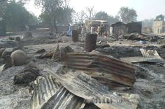 Boko Haram burns kids alive in northeast Nigeria: witness.  ABUJA, Nigeria — A survivor hidden in a tree says he watched Boko Haram extremists firebomb huts and heard the screams of children among people burned to death in the latest attack by Nigeria's homegrown Islamic extremists. Scores of charred corpses and bodies with bullet wounds littered the streets from Saturday night's attack on Dalori village just 5 kilometers (3 miles) from Maiduguri, the birthplace of Boko Haram.