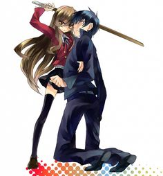 Browse Toradora collected by Jose Camargo and make your own Anime album. Tsundere, Awesome Anime, Anime Love, Manga Anime, Anime Art, Chibi, Gekkan Shoujo, Another Anime, Cute Anime Couples