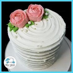 Ruffle cake flower Buttercream