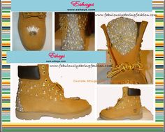 http://www.eshays.com/collections/frontpage/products/custom-gold-studs-and-ivory-pearl-timberland-boots