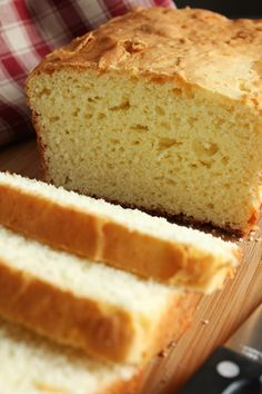 White Rice Flour Yeast Bread (Gluten-Free, Low-Fructose)